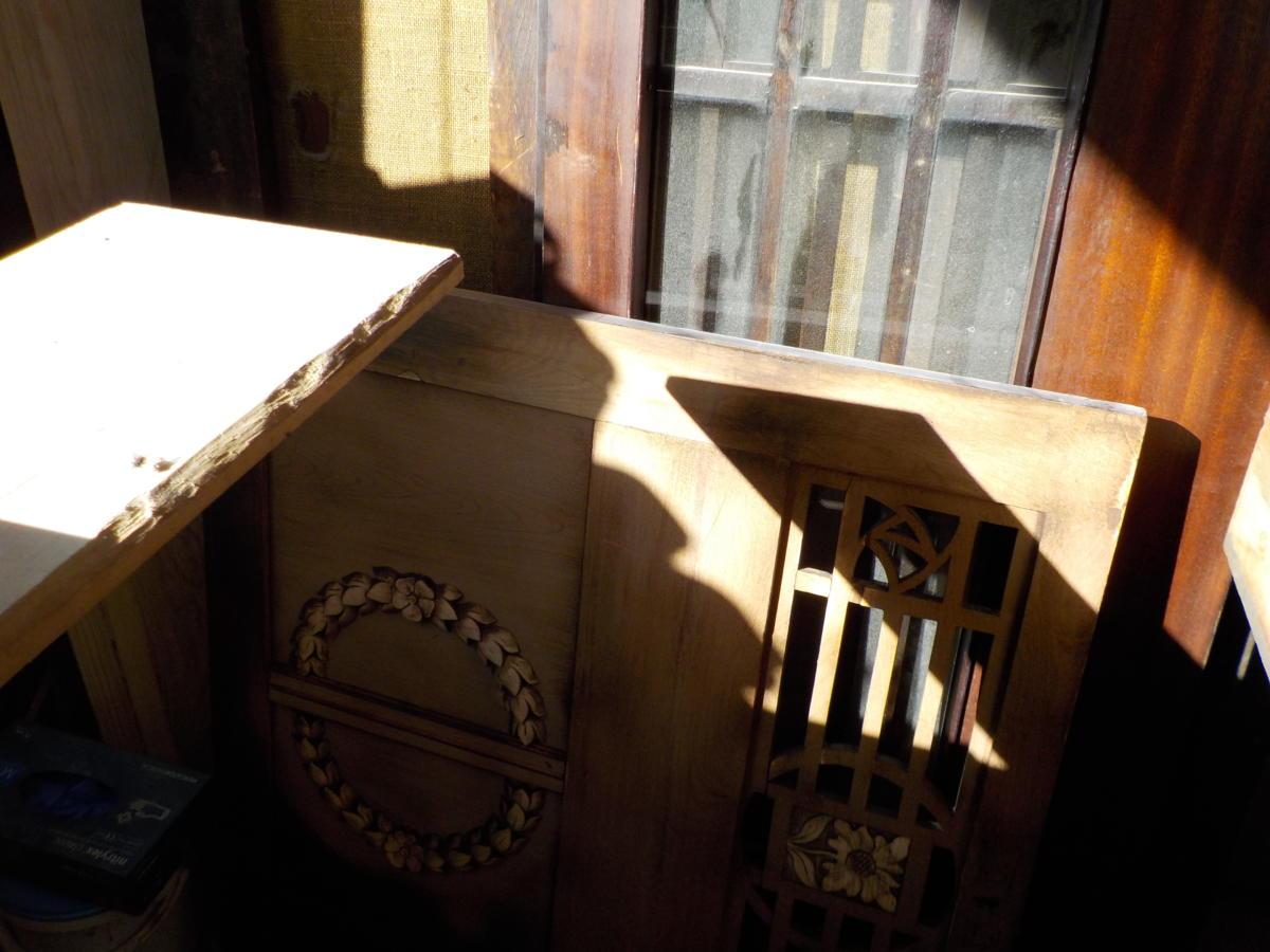 dolne drzwi po wyczyszczeniu